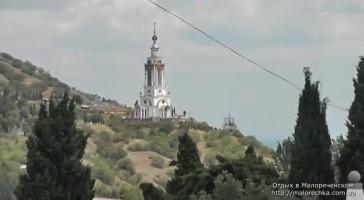 Красивейшая церковь в поселке Малореченское