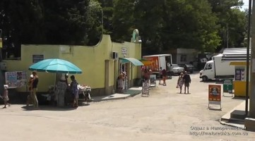 Улица в поселке Малореченское