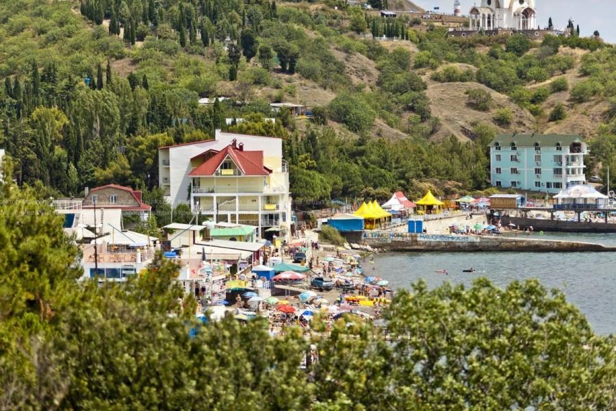 Пляжи в поселке Малоречка