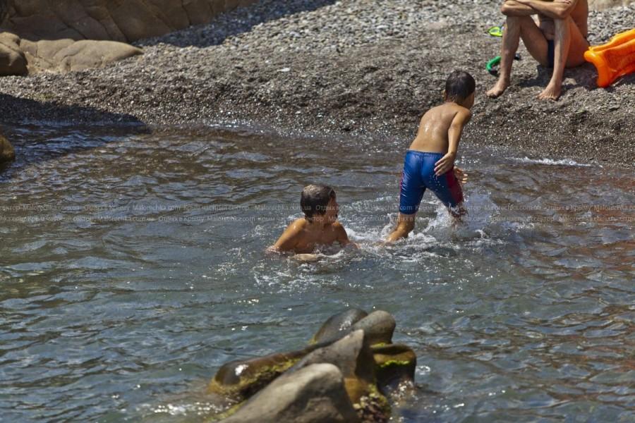 Отдых на Черном море в Малоречке
