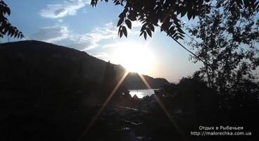 Ласковое солнышко в поселке Рыбачье