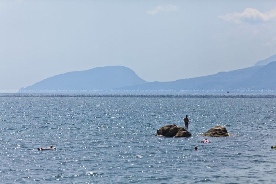 Виды на море в Малоречке