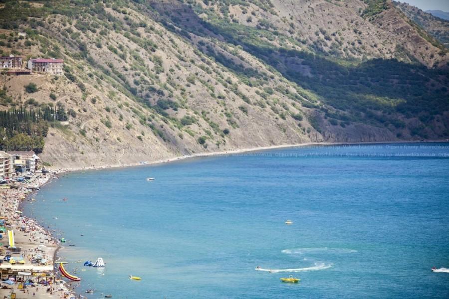 Ласковое Черное море в Рыбачьем