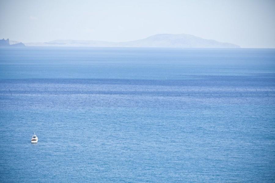 Чистейшее Черное море в поселке Рыбачье