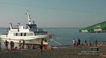 Прогулки по южному берегу на катере в Рыбачьем
