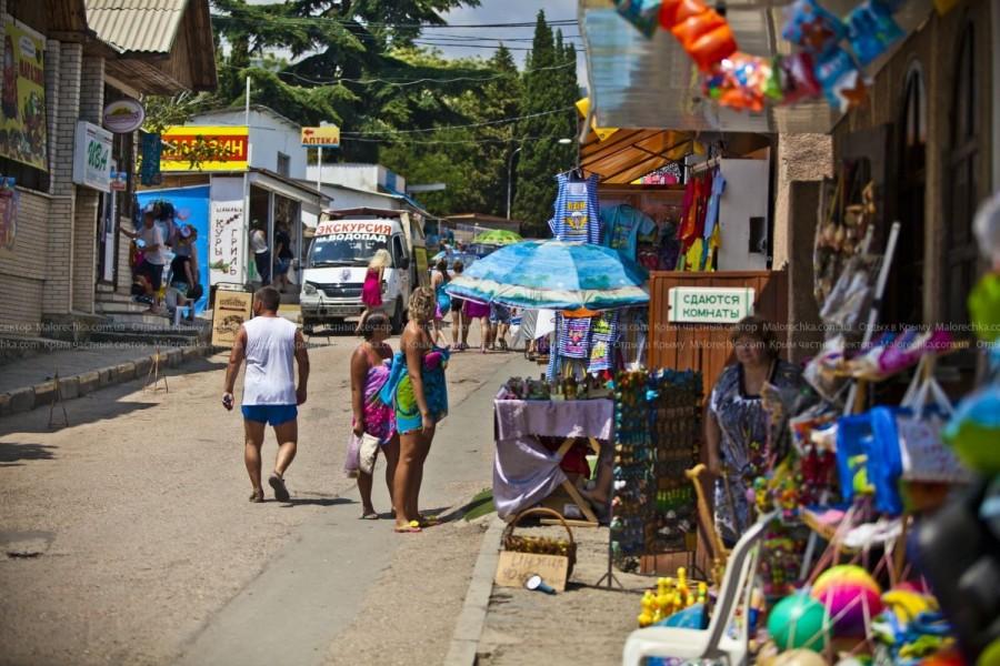 Магазины и палатки в Рыбачьем
