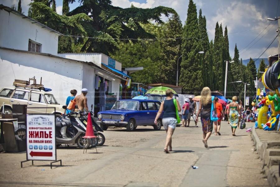 Прогулка по рынку в Рыбачьем
