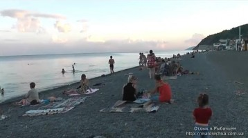 Отдых в кругу семьи на побережье в Рыбачьем