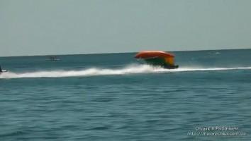 Полет над водой в Рыбачьем