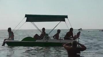 Морские развлечения в поселке Рыбачье