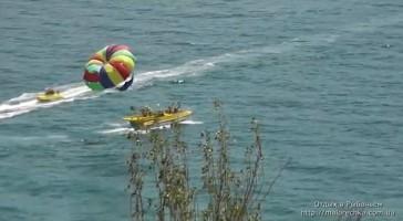 Полеты с парашютом над морем в Рыбачьем