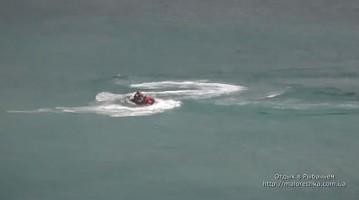 Прогулка на водном мотоцикле в Рыбачьем