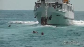 Развлечения на корабле в Рыбачьем